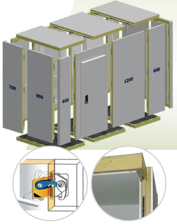 Холодильные камеры из сэндвич панелей своими руками